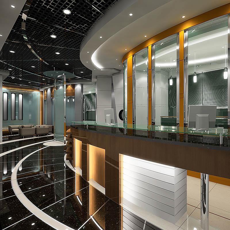 青岛广告设计培训学校 优秀室内装修效果图欣赏