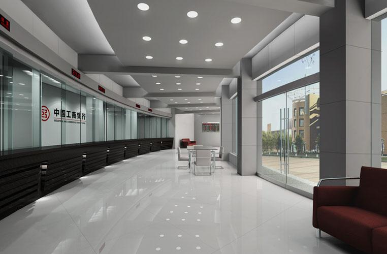 银行大厅效果图欣赏