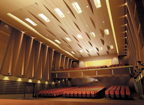 剧院空间效果图欣赏-室内设计-环艺设计-第一视觉