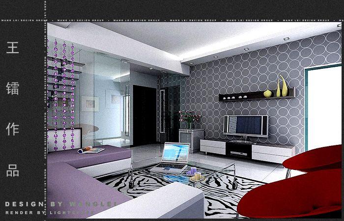 王镭作品:室内效果图设计-室内设计-环艺设计-第一视觉