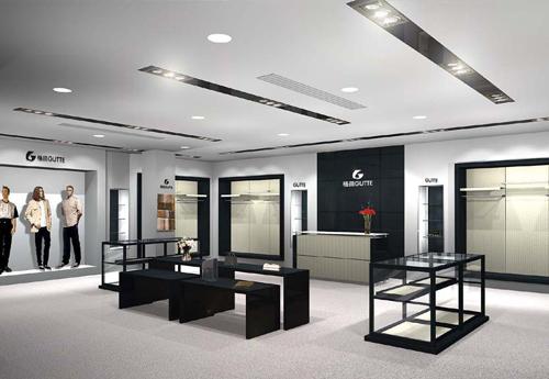 华聚品牌:专卖店展示空间设计