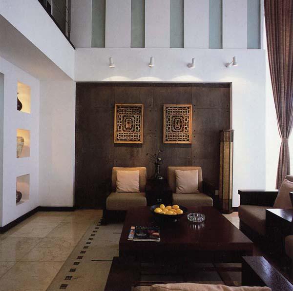 中式家居装修设计(三)-家装设计-环艺设计-第一视觉