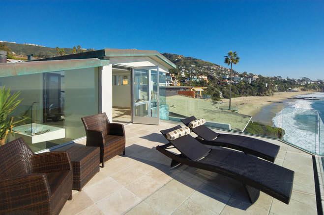 加州拉古那海滩别墅-建筑设计-环艺设计-第一视觉